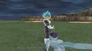 Goku y Vegeta SSJ Blue vs Golden Freezer | DRAGON BALL Z BUDOKAI TENKAICHI 4 LATINO MODO HISTORIA