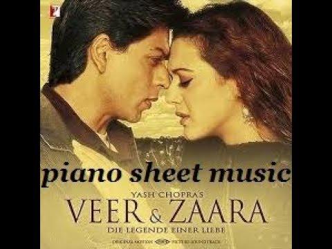 tere-liye(veer-zara),-hindi-bollywood-song,-piano-sheet-music