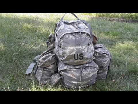 MOLLE  II Medium Ruck Sack