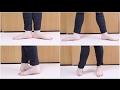 バレエの足のポジション 1〜5番 の動画、YouTube動画。