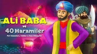 Ali Baba ve 40 Haramiler - Çizgi Film Masal