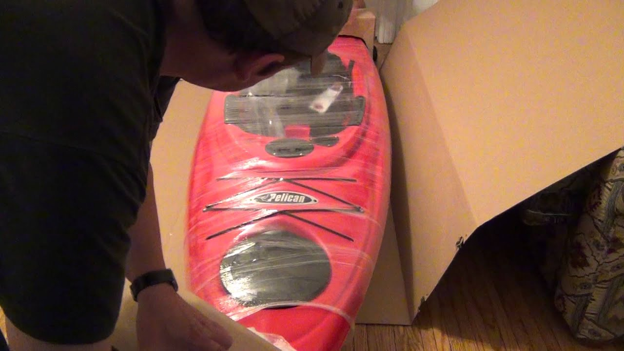 Unboxing Pelican Quest 100 Kayak Youtube