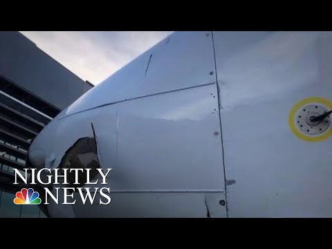Mexican Authorities Investigating Whether Drone Crashed Into Aeromexico Flight | NBC Nightly News