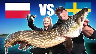 PIKE FISHING CHALLENGE: The Battle of the Szczupak - ft. Fishing With Ace 🇵🇱🇸🇪