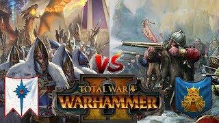 Dwarfs vs High Elves | WAR OF VENGEANCE - Total War Warhammer 2