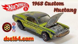 Redline Restoration US 1968 Custom Mustang