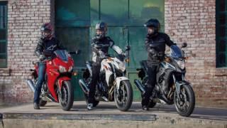 Honda CBR300R / Honda CB500F - Action Moteur Sport Moto