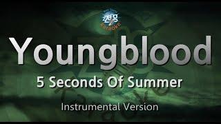 5 Seconds Of Summer-Youngblood (-1key) (MR) (Karaoke Version) [ZZang KARAOKE]