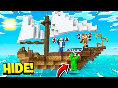 BEST HIDING SPOT ON THE BOAT! OCEAN HIDE & SEEK!