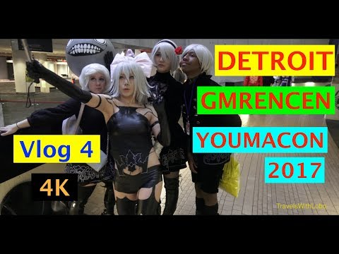 DETROIT: GM RENAISSANCE CENTER - YOUMACON 2017 - 4K