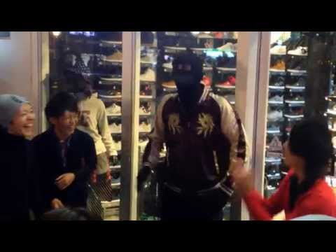 Osaka Mannequin Prank Halloween 2014