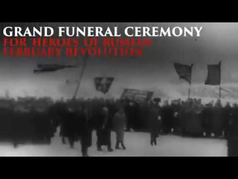 #1917LIVE: Funeral of the 'Heroes of the Russian Revolution'