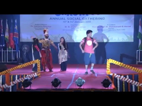 BE SHOW 2K16 : GRACIA'16 Annual Social Gathering @ MITCOE Pune