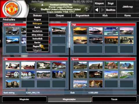 total club manager 2004 magyarul youtube. Black Bedroom Furniture Sets. Home Design Ideas
