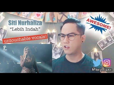 Siti Nurhaliza - Lebih Indah | REACTION