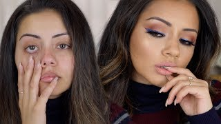 0-100 MAKEUP TRANSFORMATION TUTORIAL