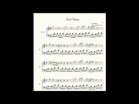the shins - New Slang (piano cover)
