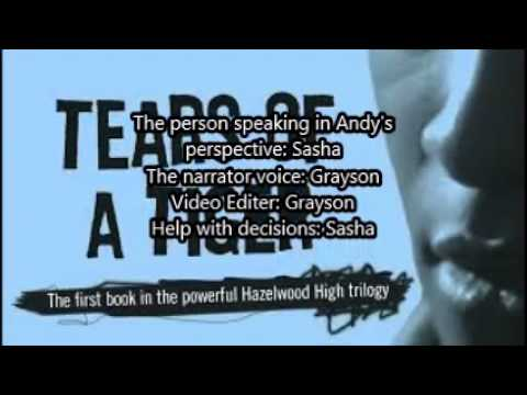 Tears of a tiger book trailer - YouTube
