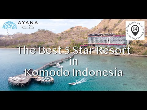Ayana Komodo Resort & Spa In 4K - The Best Resort In Komodo