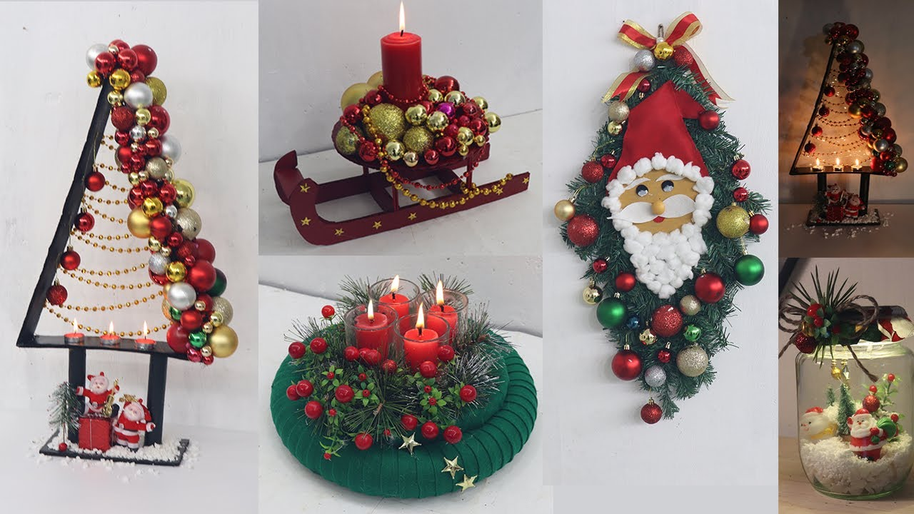 Christmas 2021 Decorating Ideas 9 Christmas Decoration Ideas At Home Christmas Decoration Ideas 2021 Youtube