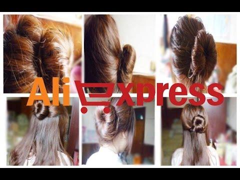 Шляпка из длинных волос / Hat long hair - YouTube