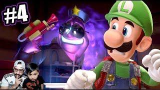 Guardias en la Mansion de Luigi | Luigi's Mansion 3 Capitulo 4 | Juegos Karim Juega