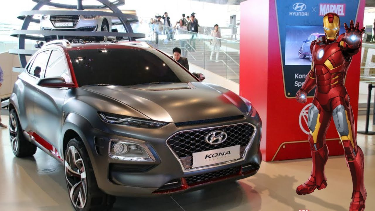 New Hyundai Kona Special Edition X Marvel Iron Man And All