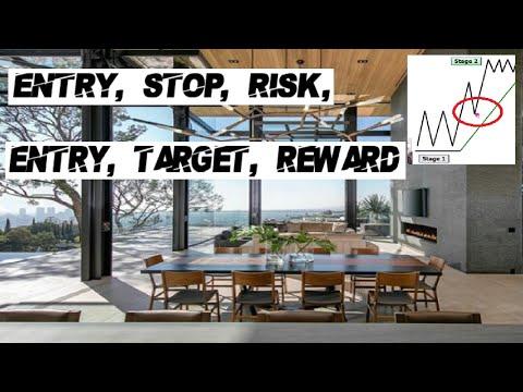 Entry, Stop, Risk, Entry, Target, Reward. #TradingEdgeKru (2020) Menlo Park, CA Club Meetup
