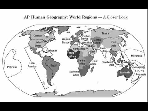 Ap Regions Map Test Preview Youtube
