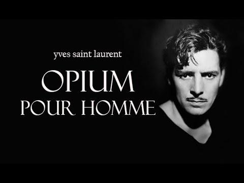 Yves Saint Laurent OPIUM POUR HOMME eau de parfum REVIEW - YouTube
