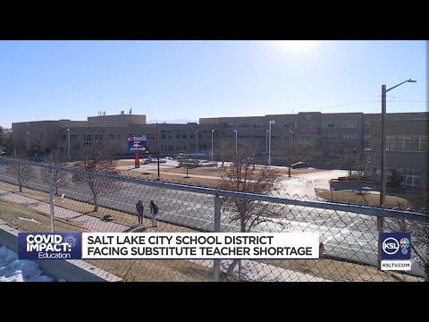 Salt Lake City Schools Facing Substitute Teacher Shortage
