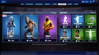 *NEW*Heist Skin & Doggo Is Back! Fortnite Item Shop June 30, 2019