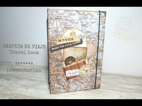Carpeta de viaje - Travel book  *presentación*