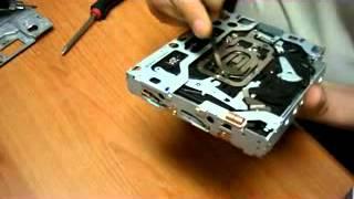nettoyage lentille navigation Honda laser lens clean (part 3)
