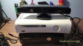 How To Set Up Xbox Kinect on Original 360 and New 360
