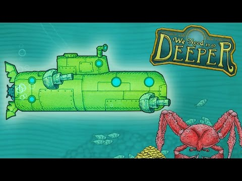 We Need to Go Deeper NEW MILITARY SUBMARINE!  (We Need to Go Deeper New Update Gameplay Part 1)