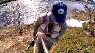 GoPro: Рыбалка на Кольском полуострове. Рында и Золотая.