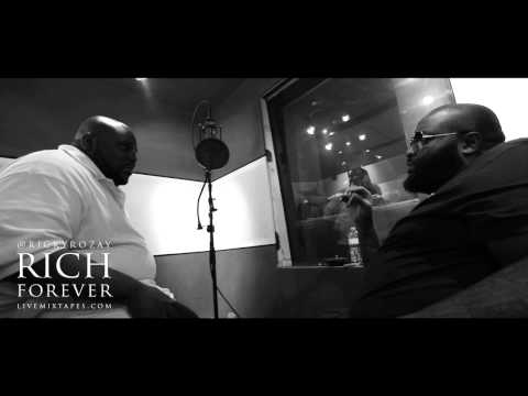 RICK ROSS 'RICH FOREVER' INTERVIEW PT. 1 BY SHAHEEM REID