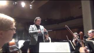 Massimiliano Donninelli conducts Ludwig van Beethoven Piano Concerto n.5 Emperor I mvt excerpts
