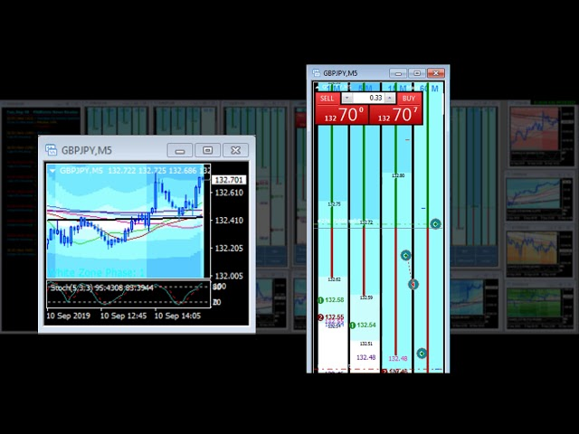 Snap Back Live Forex Trade  Video – FibMatrix Forex Day Trading Software
