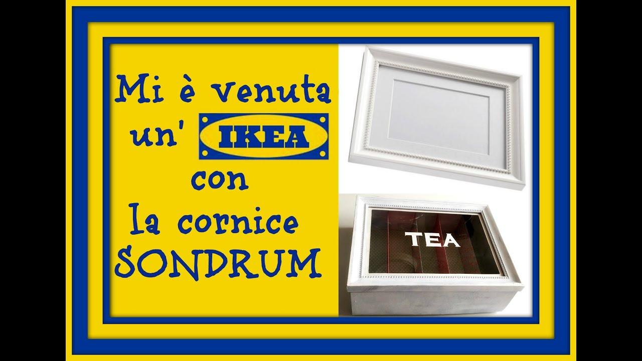 Mi venuta un 39 ikea shabby chic con la cornice sondrum tea box scatola per il tea arte per te - Cornici per foto ikea ...