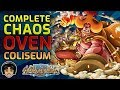 Walkthrough for Chaos Difficulty Oven Coliseum! [One Piece Treasure Cruise]