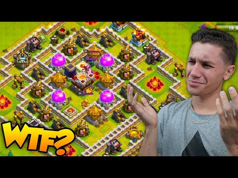 I BULLIED A BASE WITH NO DEFENSES... (Clash Of Clans)
