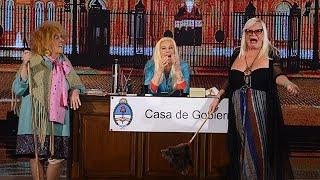 Silvia Süller desafió a la empleada púbica..¡de la manera más polémica! - Susana Giménez thumbnail