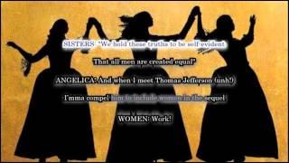 The Schuyler Sisters (Karaoke from Hamilton the Musical) with Lyrics