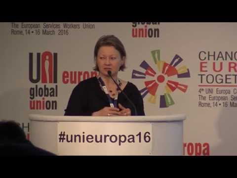Magda Stoczkiewicz, Director, Friends of the Earth Europe presents at #unieuropa16