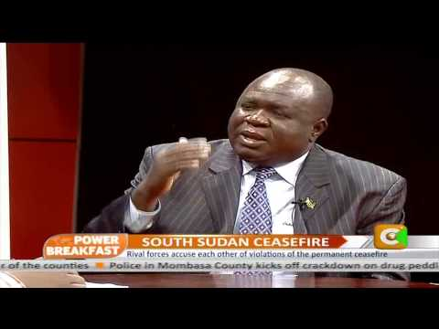 Power Breakfast: South Sudan Ceasefire