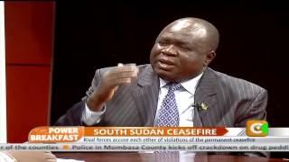Power Breakfast: South Sudan Ceasefire