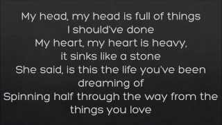 It's Not Right For You - The Script (Official Lyrics Video)