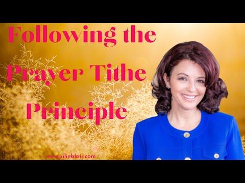 The Prayer Tithe Principle